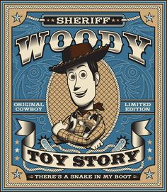 Sheriff Woody - Toy Story - Fernando Regalado