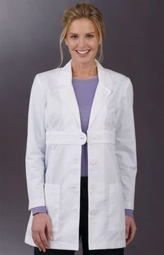 lab coats for women Healthcare Uniforms, Medical Uniforms, Spa Uniform, Scrubs Outfit, Sewing Blouses, Lab Coats, Medical Scrubs, Nursing Clothes, Coats For Women