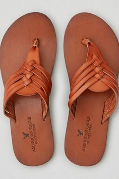 American Eagle Outfitters AEO Huarache Thong Flip Flop