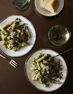 Massimo Bottura's Recipe for Fusilli With Breadcrumb Pesto