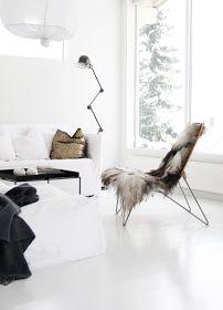 The Design Chaser: Homes to Inspire | White Flooring