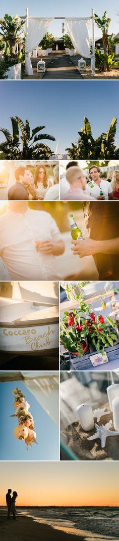 Coccaro beach club. Pre wedding party in Apulia.  Photographer: www.aberrazionicromatiche.com #apulia #wedding #coccarobeach