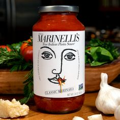 Marinelli's - Transform Your Meal With Marinelli True™ Authentic Pasta Sauce Italian Tomato Sauce, Tomato Pasta Sauce, Italian Pasta, Chef Recipes, Food Network Recipes, Italian Recipes, Dehydrated Onions, Fresh Garlic, Spicy