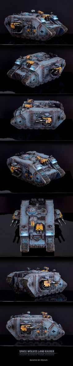 40k - Space Wolves Land Raider by Delius