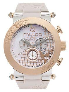 MULCO Women's MW2-28050S-034 Analog Display Swiss Quartz Brown Watch