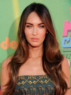 Megan Fox's beautiful, glowing skin at Kids' Choice Sports Awards