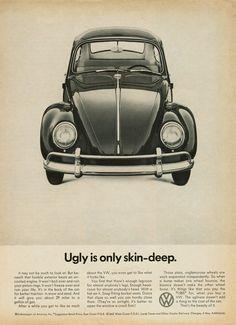 Volkswagen advert by Doyle Dane Bernbach