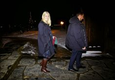 Crown Prince Haakon and Crown Princess Mette-Marit attended Christmas service at Uvdal Church with their children.