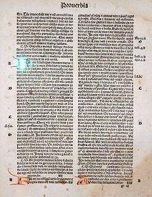 Libro dei Proverbi - Wikipedia