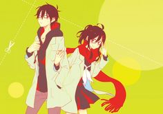 Kagerou Project - Shintarou x Ayano Anime Couples, Cute Couples, Anime Base, K Project, Kagerou Project, Manga Love, Kawaii, Actors, Pictures To Draw