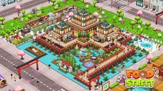 Food Street Game, Isometric Art, Hay Day, Restaurant Design, Game Design, Games, Sims 4, Layouts, Food Ideas