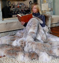 Lynx Fur Blanket
