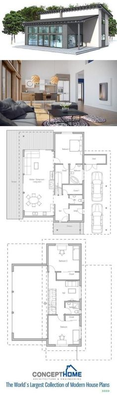 Small House Plan. Floor Plan from ConceptHome.com by Anix
