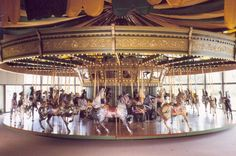 St. Louis Carousel at Faust Park, Chesterfield, MO. Just make sure to check the hours for the carousel before you schedule a shoot here. The hours are somewhat limited.