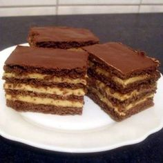 Hungarian Desserts, Hungarian Recipes, Cookie Desserts, Cookie Recipes, Dessert Recipes, Salty Snacks, Winter Food, No Bake Cake, Sweet Recipes