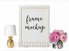 Feminine Frame Image Product White Frame by ThePrintablesWorld
