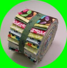 "20 2.5"" Dragonfly Jelly Roll Fabric Stash Cotton Quilting Strips"