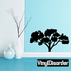 Tree Wall Decal - Vinyl Decal - Car Decal - 034