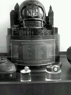 Cleveland Browns 1964 NFL Championship trophy