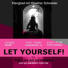Klangbad Let Yourself! Just Go, Let It Be, Yoga, Schneider, Movies, Movie Posters, Twenty One, Film Poster, Films