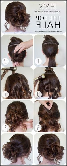 41 DIY Cool Easy Hairstyles That Real People Can Actually Do at ... #Frisuren #HairStyles 30+ DIY Cool Easy Hairstyles That Real People Can Actually Do at Home!