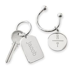 Horseshoe Key Fob with Lozenge #makeyourmark