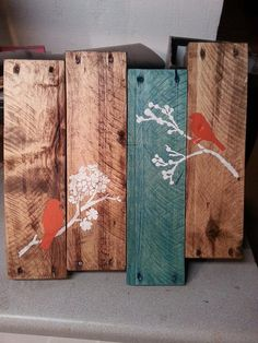Pallet Wall Art by TREFURNITURE on Etsy, $30.00