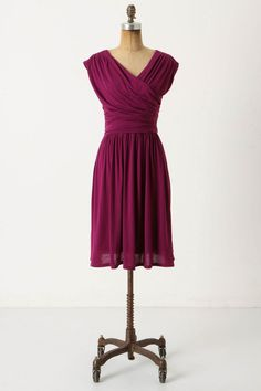 Purple Bridesmaid Dress  http://rusticweddingchic.com/spanish-style-vintage-wedding