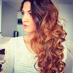 Brunette Curls cute hair beautiful pretty brunette curls hairstyle
