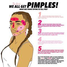 Pimple thesaurus