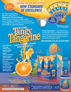 Beyond Tangy Tangerine - Youngevity