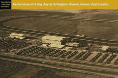 Arlington Downs Racetrack – Arlington, Texas Cowboys Stadium, Arlington Texas, Construction Cost, Texas History, Texas Homes, Interesting History, Fort Worth, Aerial View, Washington Dc