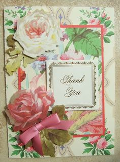card made using anna griffin kit