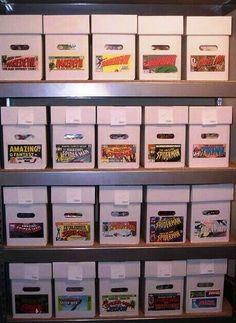 comic storage ideas- for hubs. & IKEA Comic Cabinet | Pinterest | Ikea pax Comic and Storage