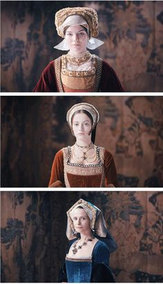 Six Wives with Lucy Worsley- Anne of Cleves,Catherine Howard and Catherine Parr Anne Of Cleves, Anne Boleyn, Tudor History, British History, Historical Costume, Historical Clothing, Downton Abbey, Dinastia Tudor, Renaissance