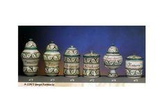 Juego de farmacia de cerámica árabe andalusí, A-220-3-  Si esta interesado en esta valiosa pieza de cerámica, puede escribirnos un correo: info@decoracion-arabe.es, o llame al 630082402 /958343033