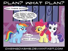 Plan? What Plan? by DaringDashie.deviantart.com on @deviantART