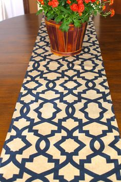 NAVY TABLE RUNNER 12 x 48 Blue Tan Khaki Table Runners Wedding Showers Decorative Navy Holiday Home and Living Home Decor Khaki 60 72 84 96