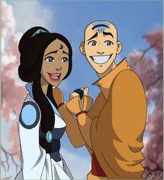 Katara and Aang's wedding!