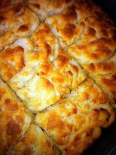 Butter Swim Biscuits.