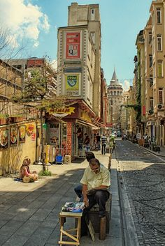 Galata Tower, Istanbul, Turkey. stay with 1BB's affordable accommodation…