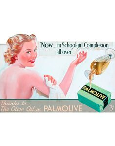 Green palmolive soap - Dad wouldn't use anything else!
