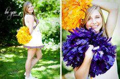 Cute idea if I get a senior girl that's a cheerleader!