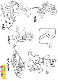 Polish Alphabet, Polish Clothing, Polish Language, Montessori, Valentines, Logos, Kids, Fictional Characters, Double Deck Bed