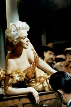 Marilyn Monroe in River of No Return, 1954