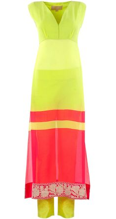 This Holi add a dash of Neon to your wardrobe,tunics suits any body type and looks good