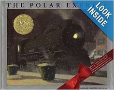 The Polar Express by Chris Van Allsburg. This was made into a movie and we have it on DVD. After you read the book, come check out the movie! Polar Express Book, Polar Express Party, Polar Express Train, Childrens Christmas, Christmas Books, A Christmas Story, Childrens Books, Christmas Eve, Christmas Ideas