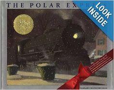 A Christmas classic! The Polar Express: Chris Van Allsburg #christmas books