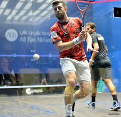 A good example of early preparation and upper body rotation as Daryl approaches the back corner. Use the time you have when travelling from the T to the ball to lift your racket and get into a good body position. Learn more now: https://squashskills.com/squash:playlists #squash #psaworldtour #psa