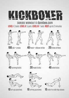 Kickboxer Workout:  Conquer Fear. Instill Power. OTZMA wwwotzmaselfdefense.com